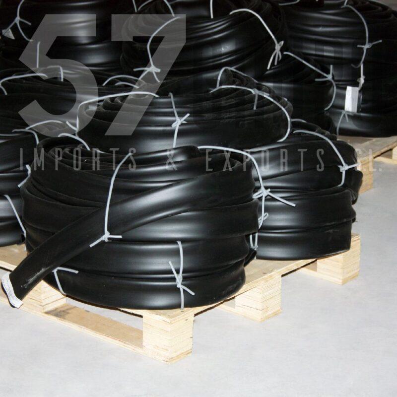 tubo enfundar pvc negro