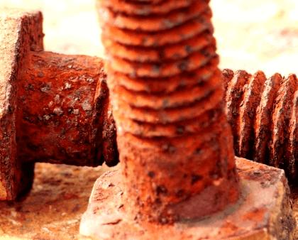 Cómo quitar tornillos oxidados