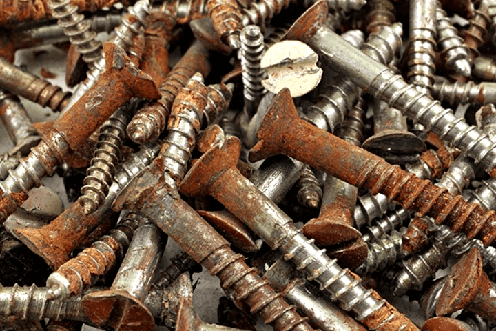 metodos para aflojar o quitar tornillos oxidados