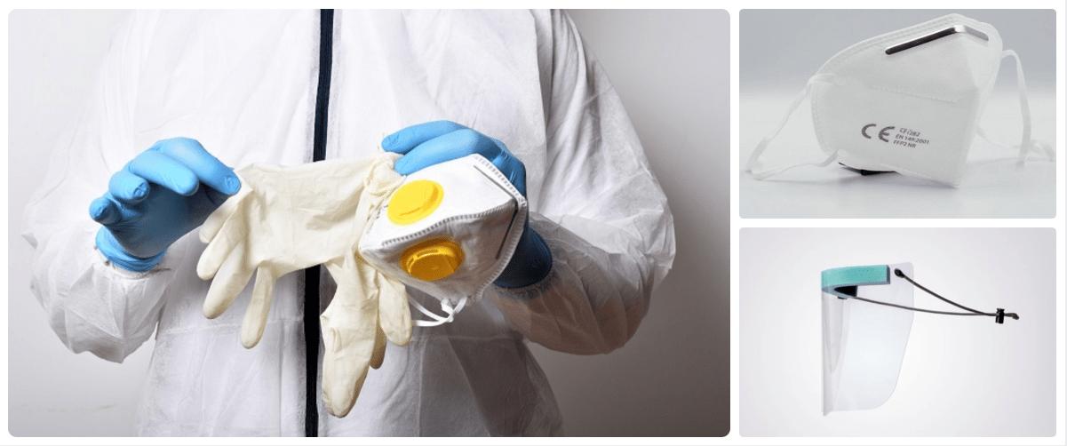 Protecciones profesionales para la prevención del COVID-19